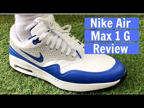 Nike Air Max 1 G Golf Shoes Reviews