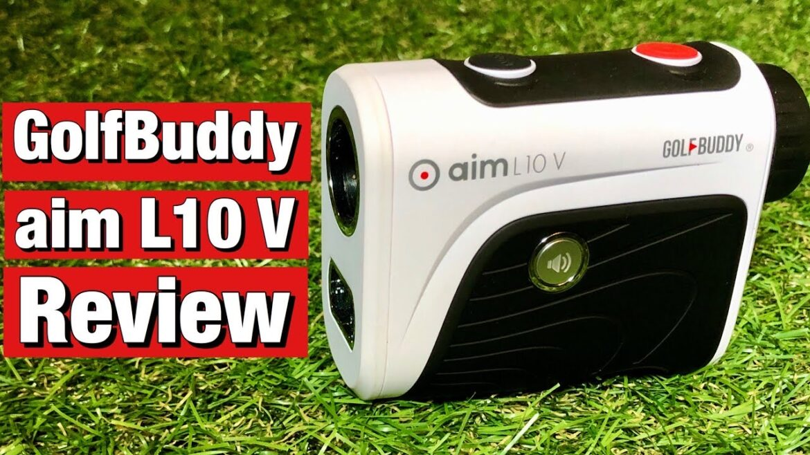 GolfBuddy aim L10 V rangefinder review