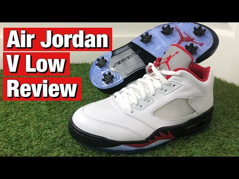 Air Jordan 5 Low Golf Shoes Review