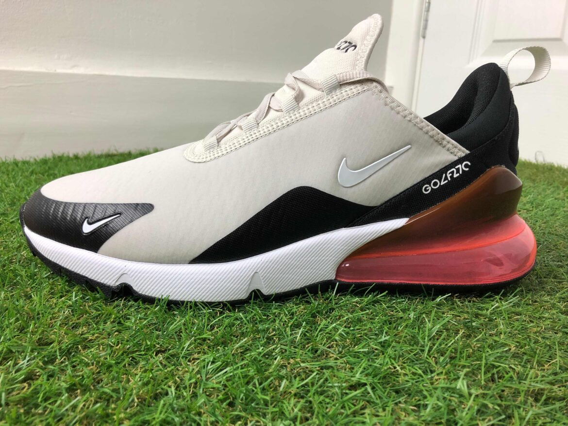 Nike Air Max 270 G Golf Shoes Review – The best of the sneaker golf shoes?