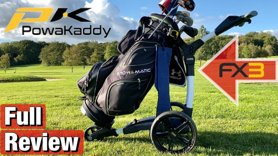 Powakaddy FX 3 Review – A great entry level electric trolley