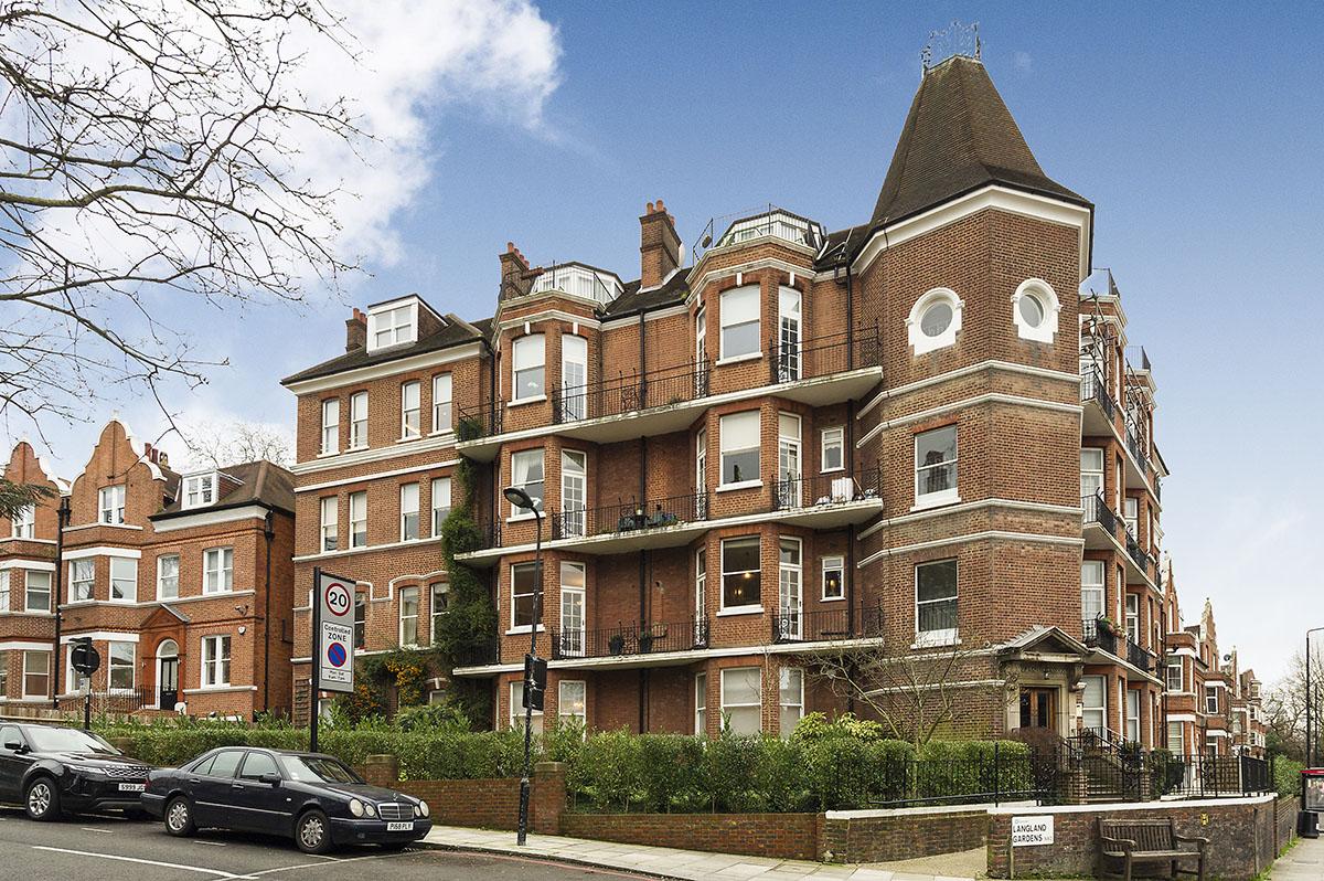 Langland Mansions, Langland Gardens, London NW3