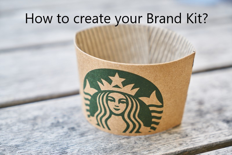 Brand kit for small business
