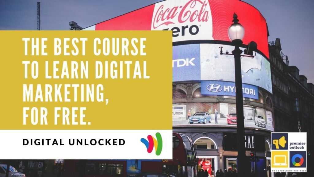 The best course to learn digital marketing, for free.