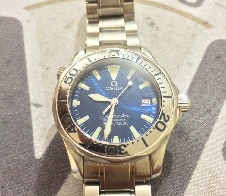 Omega watch battery replacement Waringstown