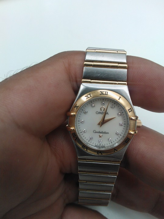 Omega watch battery replacement Waterfoot