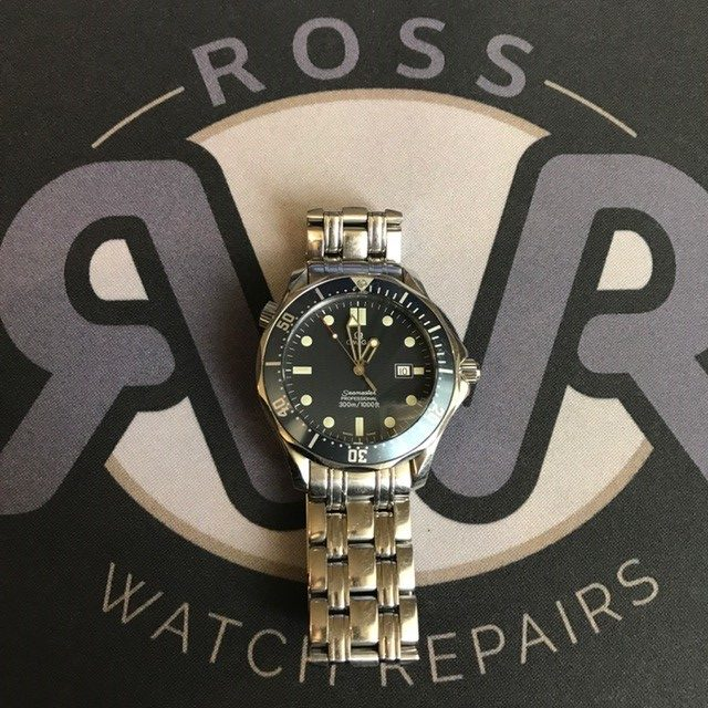 Omega watch battery replacement Upperlands
