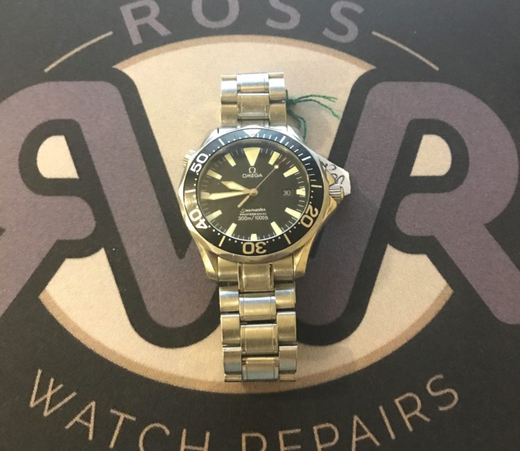 Omega watch battery replacement Tullyhogue