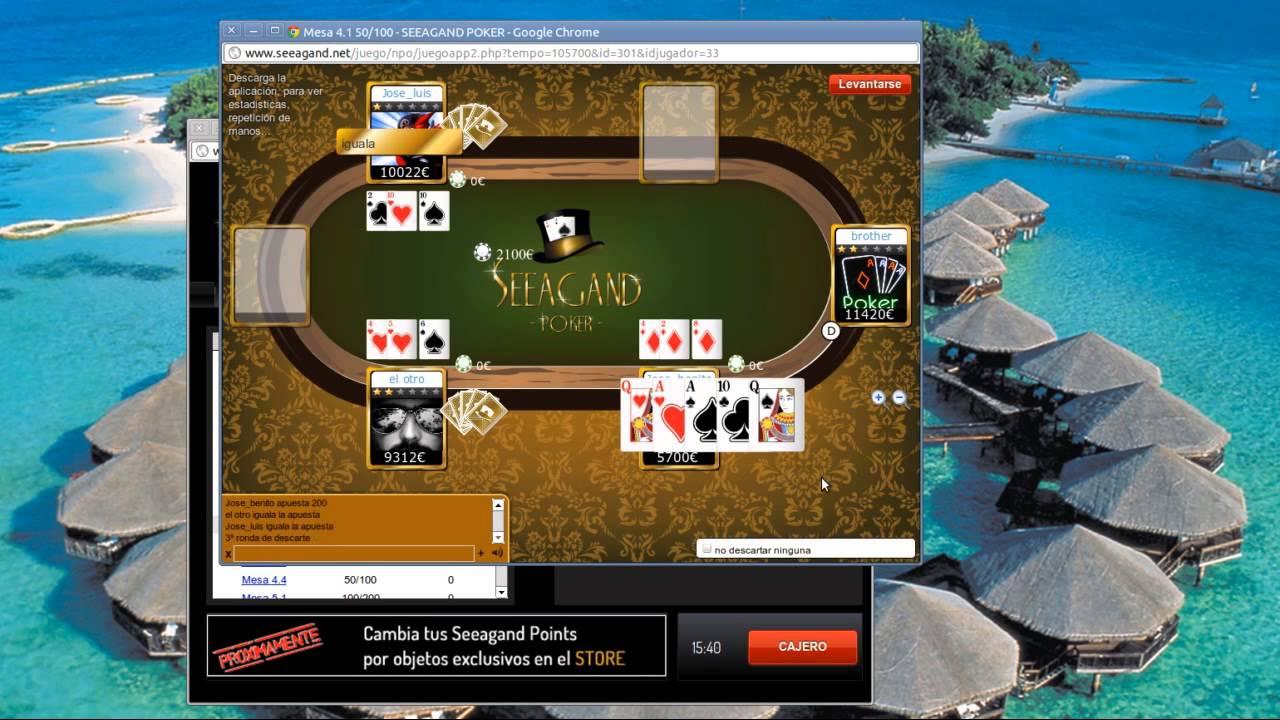 SEEAGAND POKER 16-02-13 Full screen HD High-Level Poker 2/2