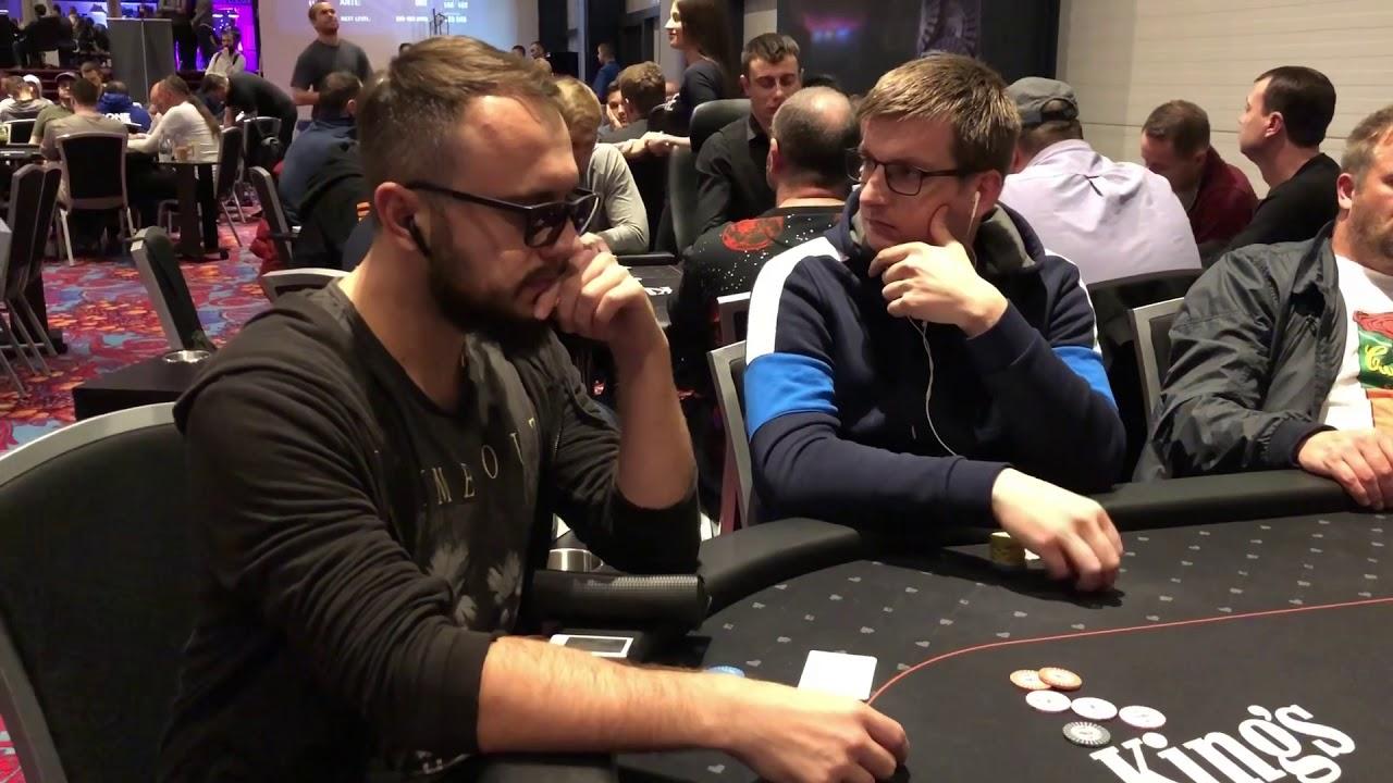 WSOP Europe – наши в Главном Событии день 1Б