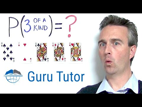 5-card Poker THREE OF A KIND Probability and Odds