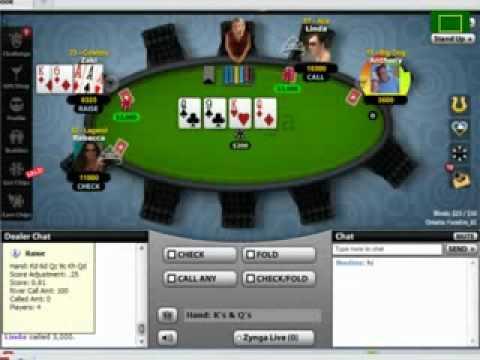 Tweaked Zynga Poker Bot with Odds Calculator- Updated '12/2/2010