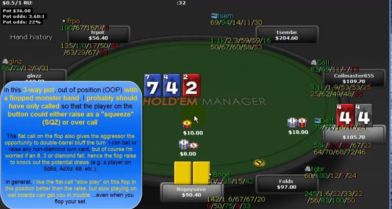 Poker Betting Strategy and Tips, Bet Types, Pot Manipulation & Lines EPK 054
