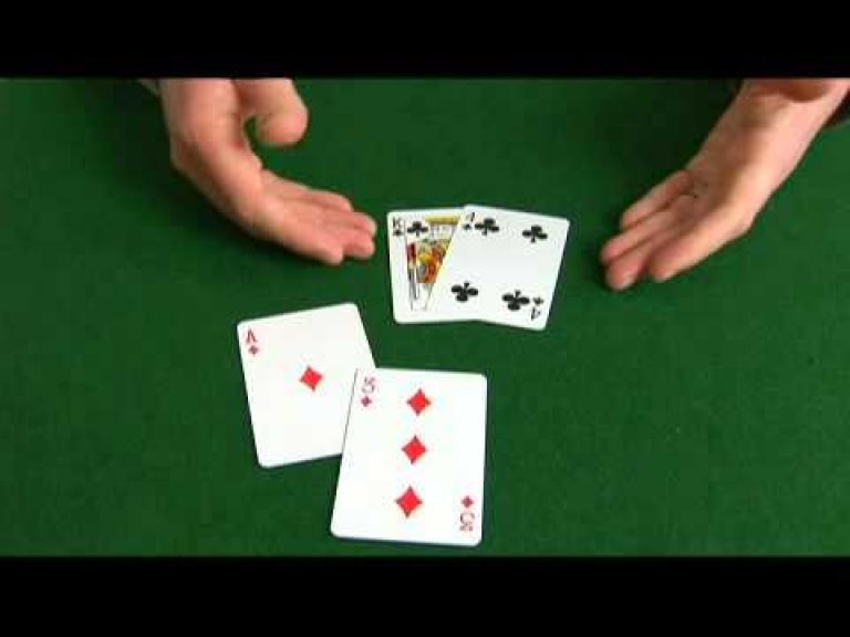Omaha Hi-Lo Poker: Ace, 3 Suited & King, 4 Suited Hand