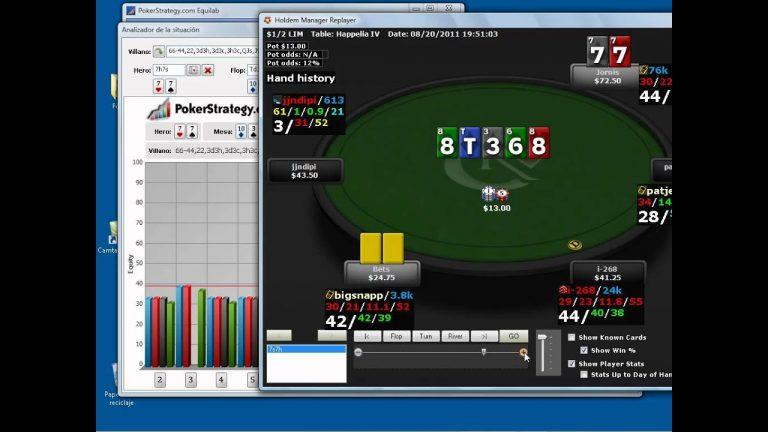 Soft de poker. Analisis de Equilab. 3 de 3.mov
