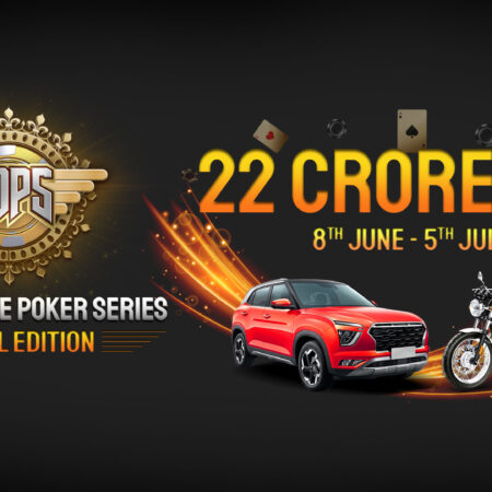 AOPS Online Poker Series 22Crore Guaranteed June 8 – July 5