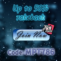 50% Rakeback J88Poker
