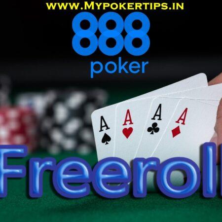 888Poker Freeroll Tournament 18th Feb 2021, No Deposit Needed
