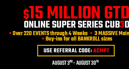 Americas Cardroom readies another great OSS Cub3d X for the summer