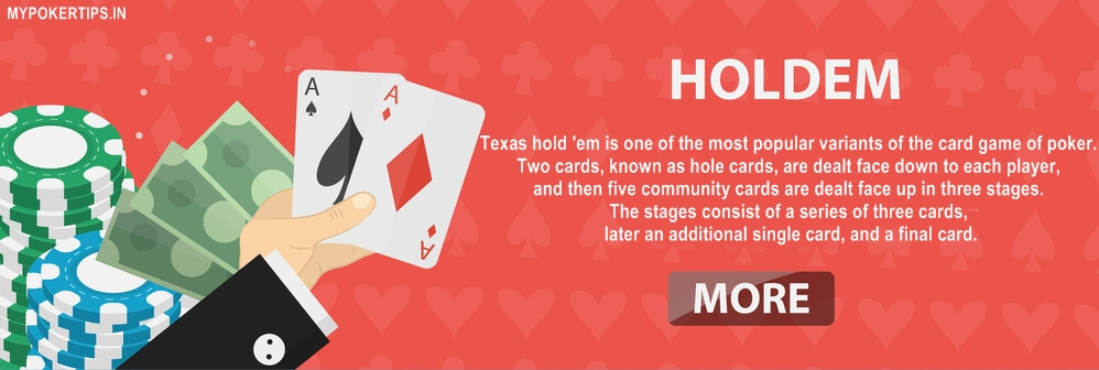 learn how to play texas holdem poker