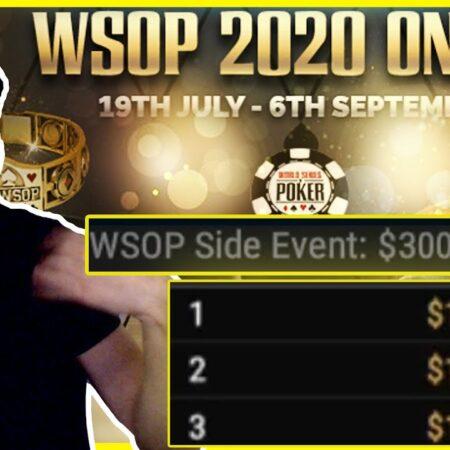 $300 WSOP Marathon FINAL TABLE!