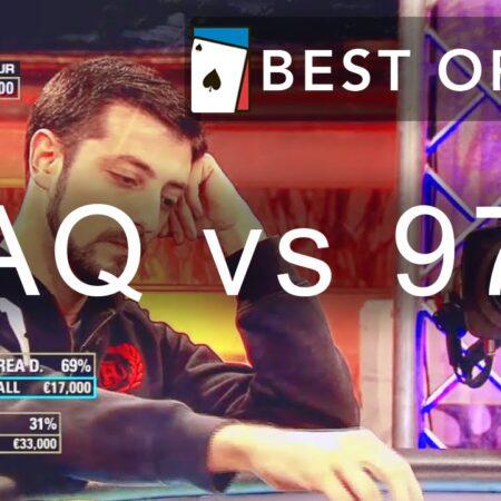 [AQ vs 97] Best Min-Raise    Best of WPT