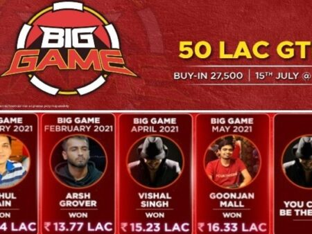 Four Champions Already Crowned & You Could Be The Next. Join 50 Lac GTD Adda52 Big Game Tonight At 9 PM!