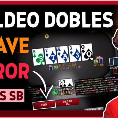 EVITA este ERROR! ⛔ PioSolver ✅ Fold Dobles nl400 📘 Aprende Poker en FormaPoker