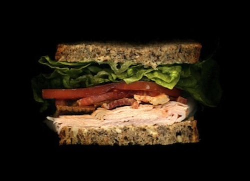 Smoked Turkey, Bacon, Lettuce, Tomato, Avocado Mayo, On Seven-Grain Bread