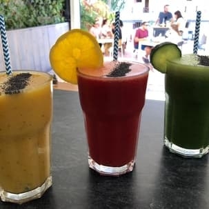 smoothies fresh fruits power food tenerife south