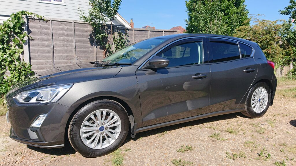 Ford Focus correction and ceramic wax applied