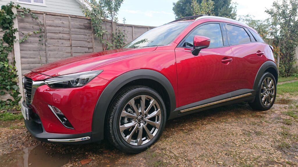 Mazda CX3 ceramic coated