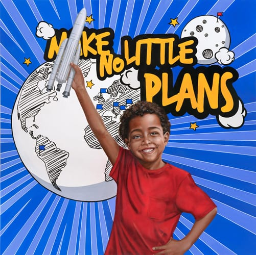 Make No Little Plans - Covisian group project Corporate Art by Sabrina Rocca