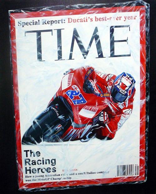 Ducati corse project Corporate Art by Sabrina Rocca 2007