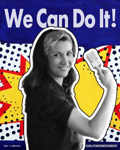 about me we can do it concept Sabrina Rocca