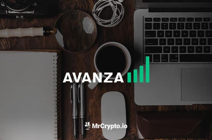 Köpa kryptovaluta på Avanza