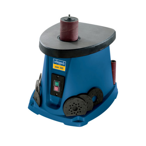 SCHEPPACH OSM100 | Spindle Sander – with Sanding Sleeves & Rubber Sanding Drums