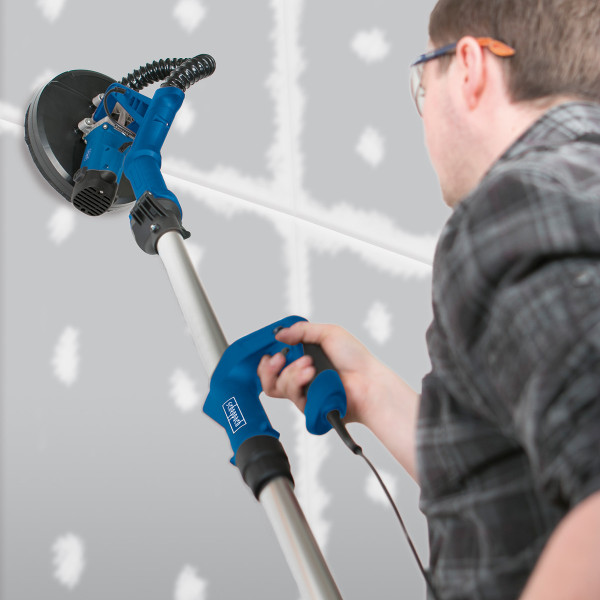 DS920 | Drywall Sander – with 6 x Sanding Paper, Connection Adapter & Hose