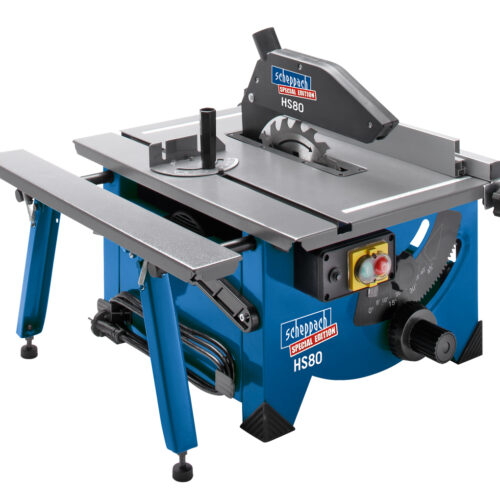 HS80 210mm electric tilt arbor table saw 230v