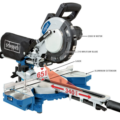 HM216 Sliding Mitre Saw