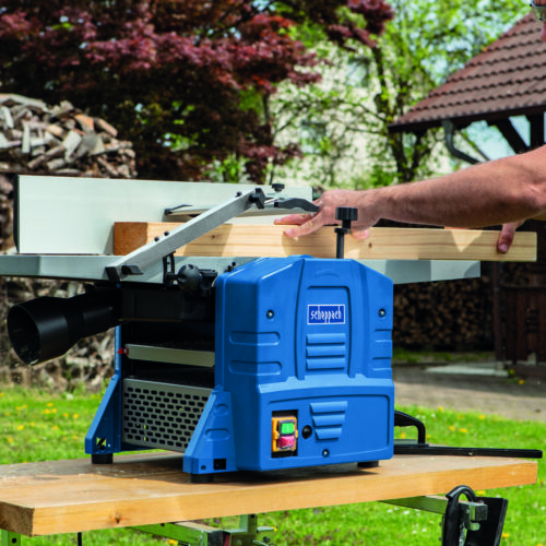 HMS1080 Planer thicknesser with De-luxe fence