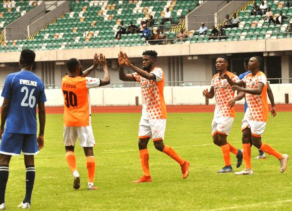 Katsina United end Akwa United's unbeaten run as Dakkada FC records 3rd away win in NPFL