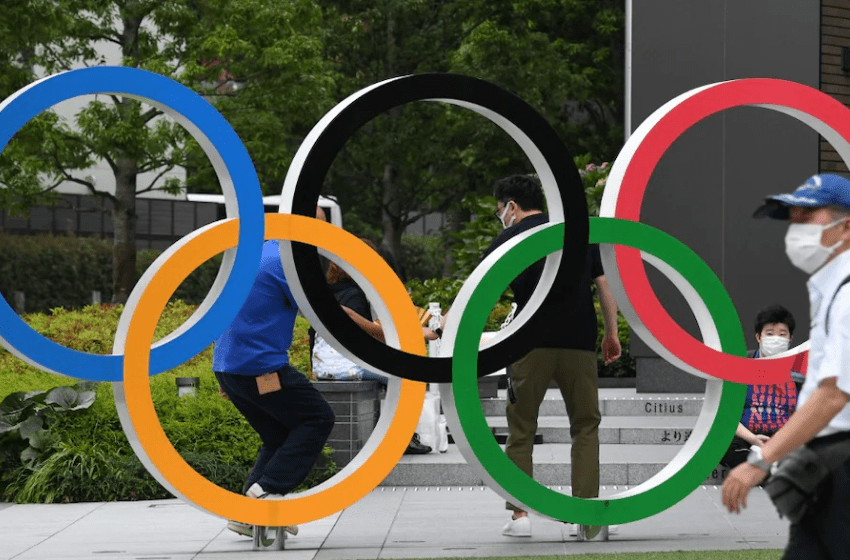 Athlete and five workers test positive for COVID-19 as Tokyo Olympics opening nears