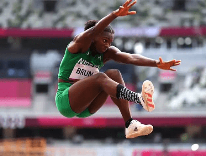 Long jumper Ese Brume wins first medal for Nigeria in ongoing Tokyo Olympics