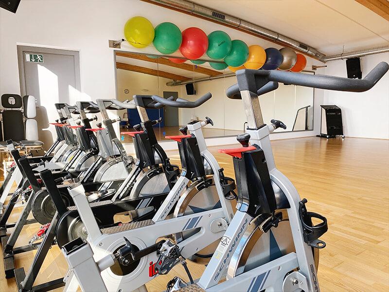 akitwell impressionen fitness indoor bikes