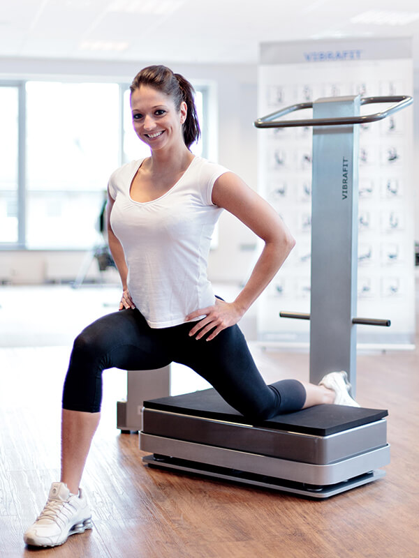 akitwell impressionen fitness uebung ausfallschritt vibrafit