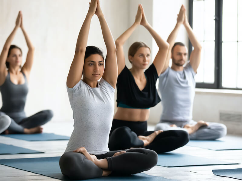 akitwell impressionen fitness yoga