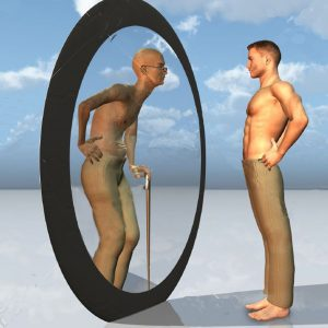 youth-sees-future-self-in-mirror-Stock-Photo-mirror-reflection-image