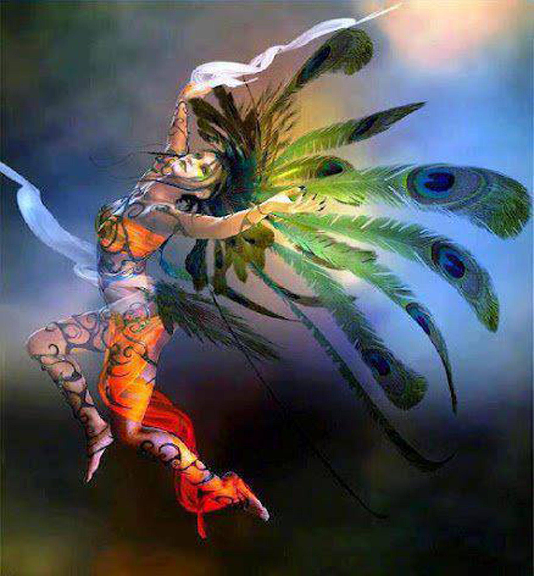 dancer-peacock