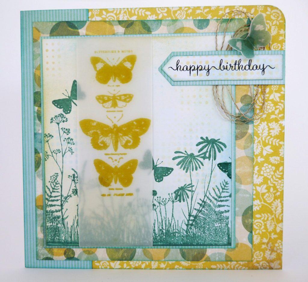 Simply Homemade vellum butterflies
